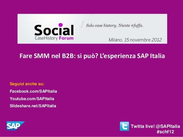 Fare Social Media Marketing nel B2B: si può?