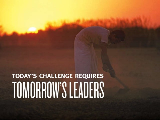 Food Security: Today's Challenge Requires Tomorrow's Leaders