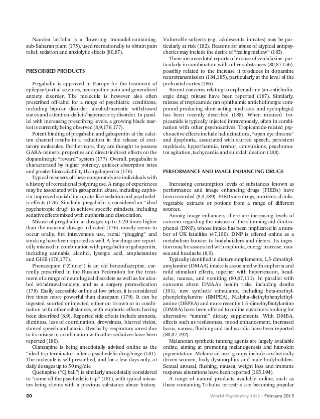 Schifano et al. 2015 world psychiatry