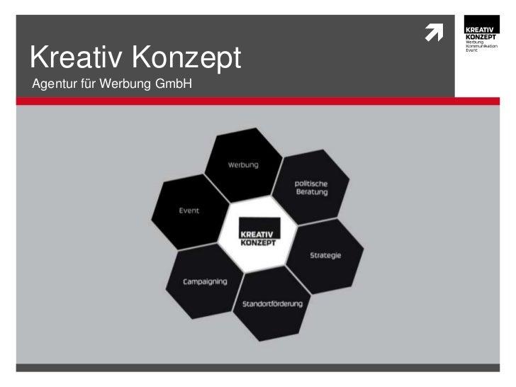Kreativ KonzeptAgentur für Werbung GmbH