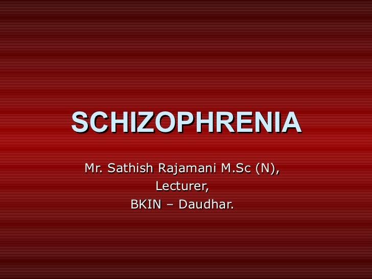 Schizophrenia (1)