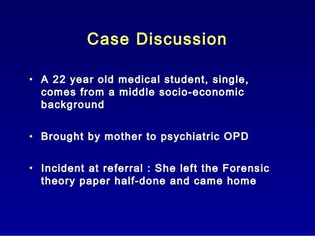 Schizophrenia case history- prof. fareed minhas