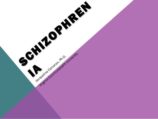 Schizophrenia corcoran 2013