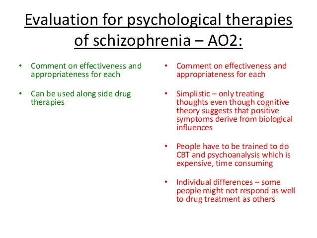 psychology research paper on schizophrenia The causes and symptoms schizophrenia schizophrenia is one of the most common serious psychiatric illnesses in the united states.