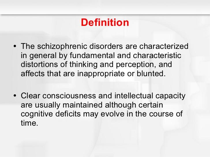 case study on schizophrenia
