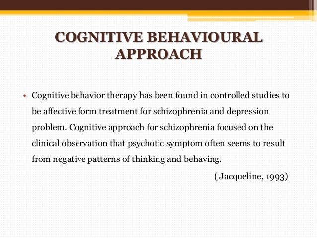 case study schizophrenia occupational therapy