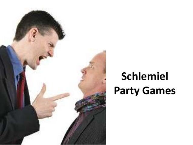 Schlemiel Party Games