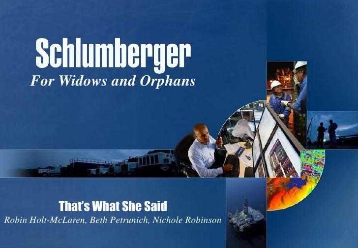 For Widows and Orphans             That's What She SaidRobin Holt-McLaren, Beth Petrunich, Nichole Robinson
