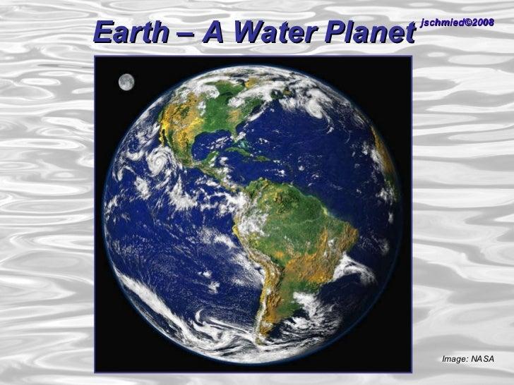 Schmied earththewaterplanet