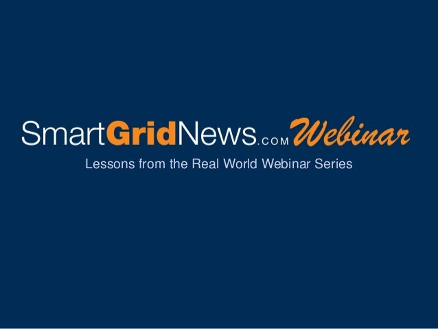 Lessons from the Real World Webinar Series