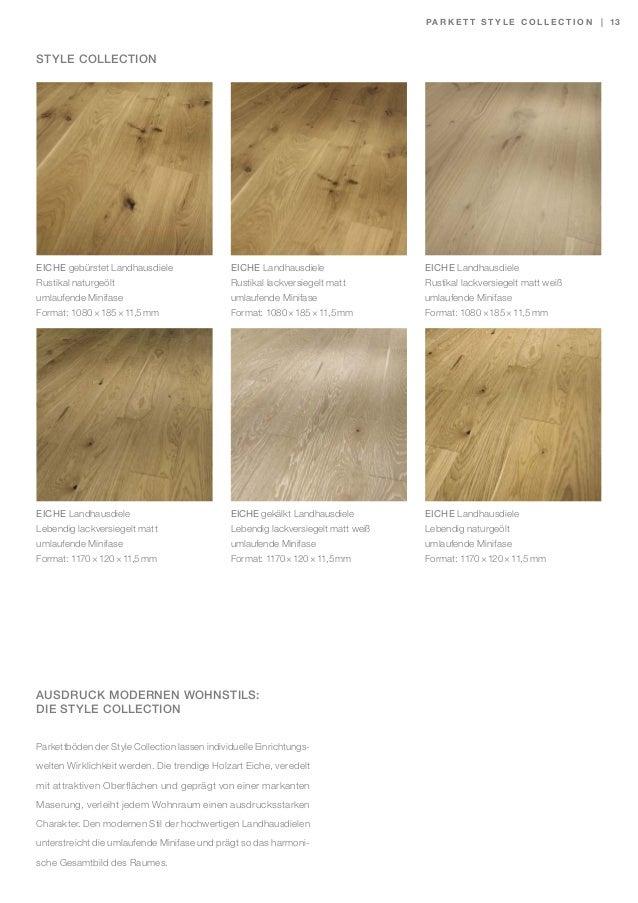 sch ner wohnen parkett trend bodenbelag kollektion katalog. Black Bedroom Furniture Sets. Home Design Ideas