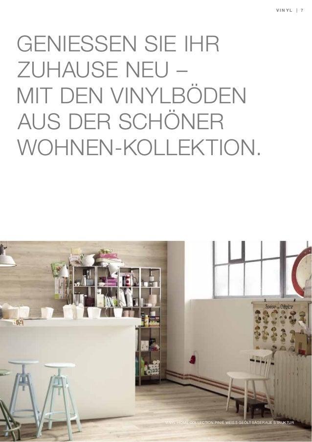 sch ner wohnen vinylboden trend bodenbelag kollektion katalog 2014. Black Bedroom Furniture Sets. Home Design Ideas