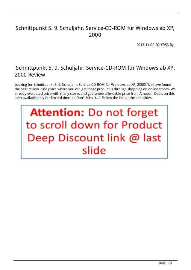 Schnittpunkt 5-9-schuljahr-service-cd-rom-fur-windows-ab-xp-2000