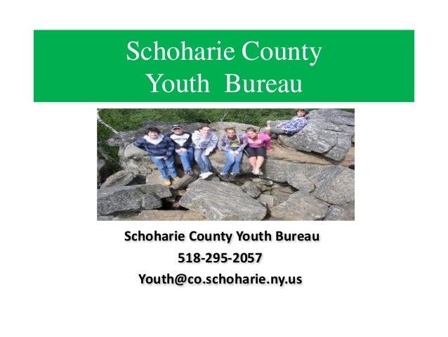 Schoharie county youth bureau