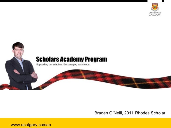 Scholars Academy, University of Calgary