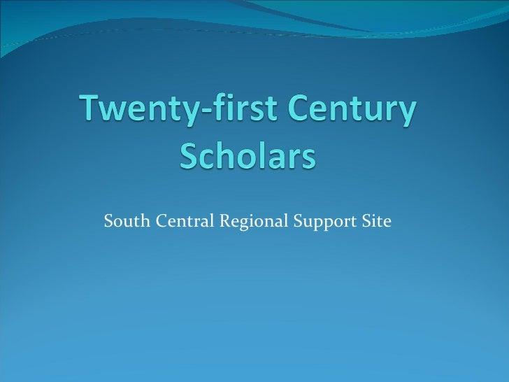 Scholars enrollment presentation