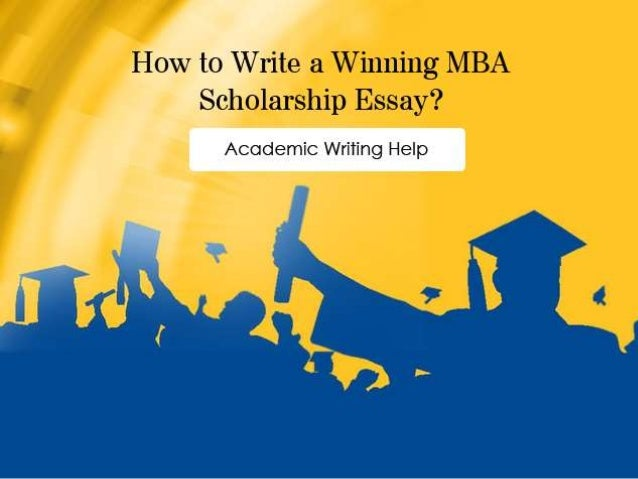 Mba scholarship essays tips