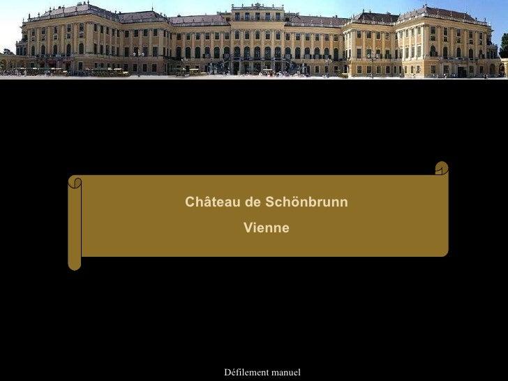 Défilement manuel Château de Schönbrunn Vienne