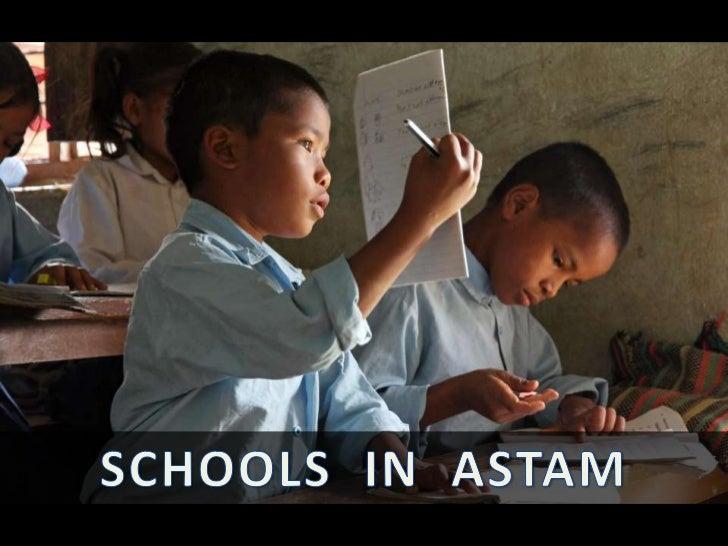 Education in Astam, Nepal
