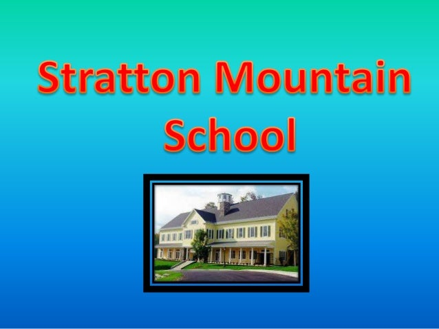 Stratton Mountain School is an exciting place to learn, compete and grow. Our community of students, teachers and coaches ...