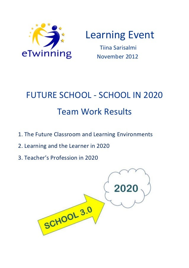 School in 2020 - Team Work