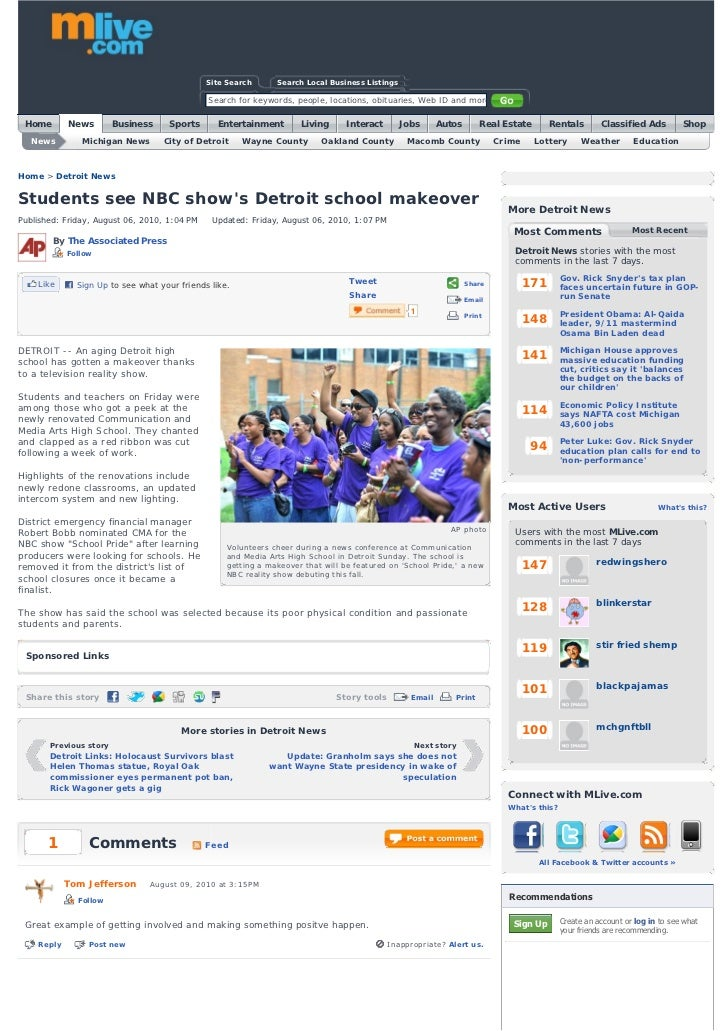 Great Press from School Pride Competition with Microsoft & NBC