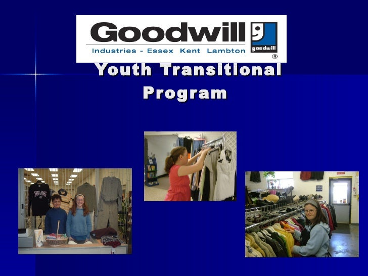 School to Work   Youth Transitional Program