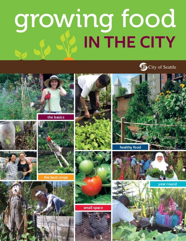 growing food in the city  the basics  healthy food  the best crops year round  small space