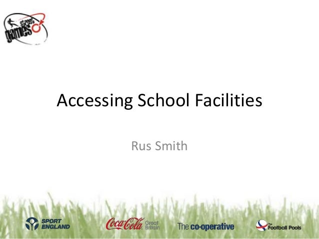 Accessing school facilities | StreetGames National Conference 2013