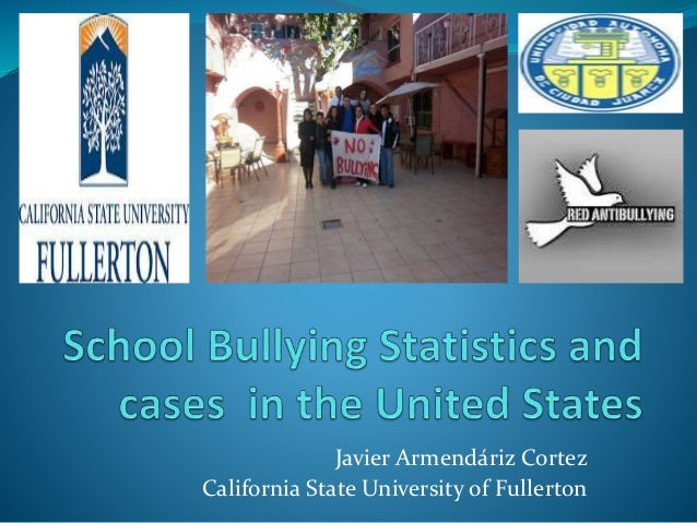 School bullying statistics in the united states, Javier Armendariz Cortez