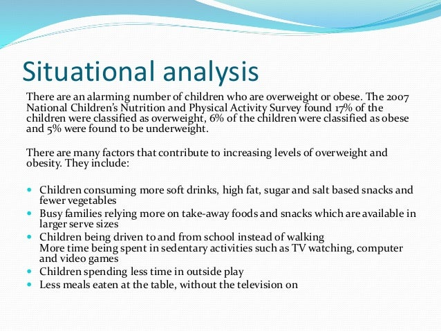 situational analysis of esl student Assessing learner needs in the adult esl classroom   application:  participants apply the new information in a different situation or setting they may  apply it to  understanding and facilitating adult learning: analysis of principles  and.