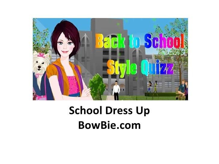 School dress up