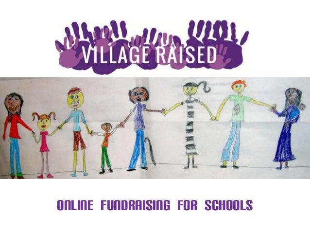 ONLINE FUNDRAISING FOR SCHOOLS