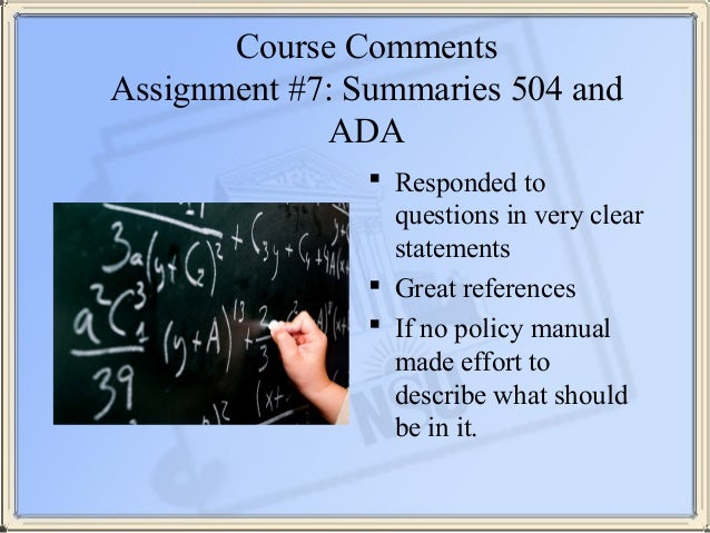 Law school assignments