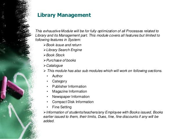 literature review on library books management system