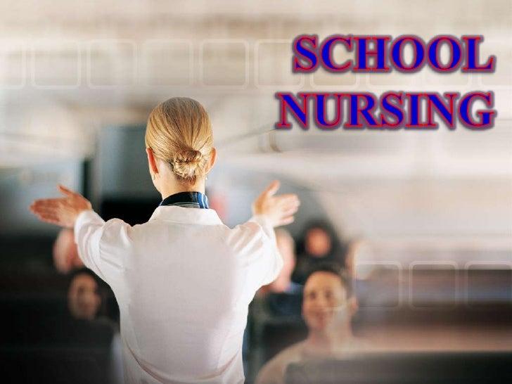 SCHOOL<br />NURSING<br />
