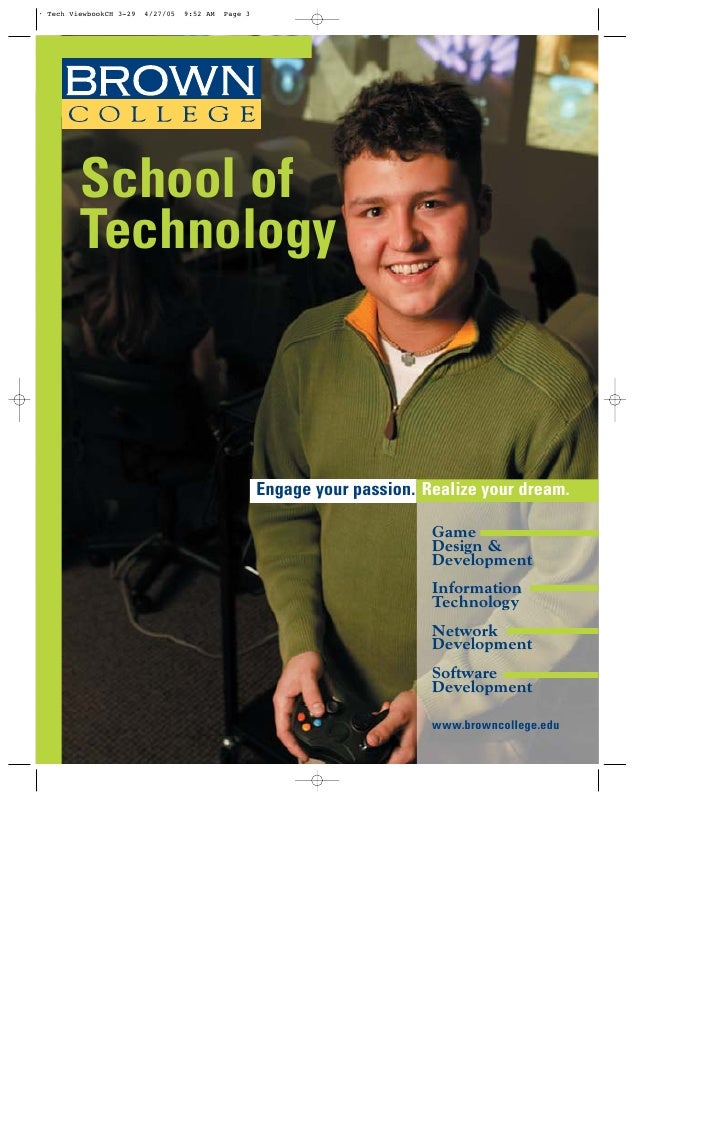 School of Technology          Engage your passion. Realize your dream.                              Game                  ...