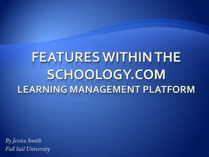Getting Started with Schoology