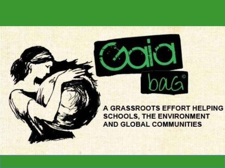 Gaia Bag School Fundraisers