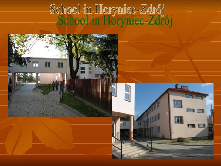 School in Horyniec-Zdrój