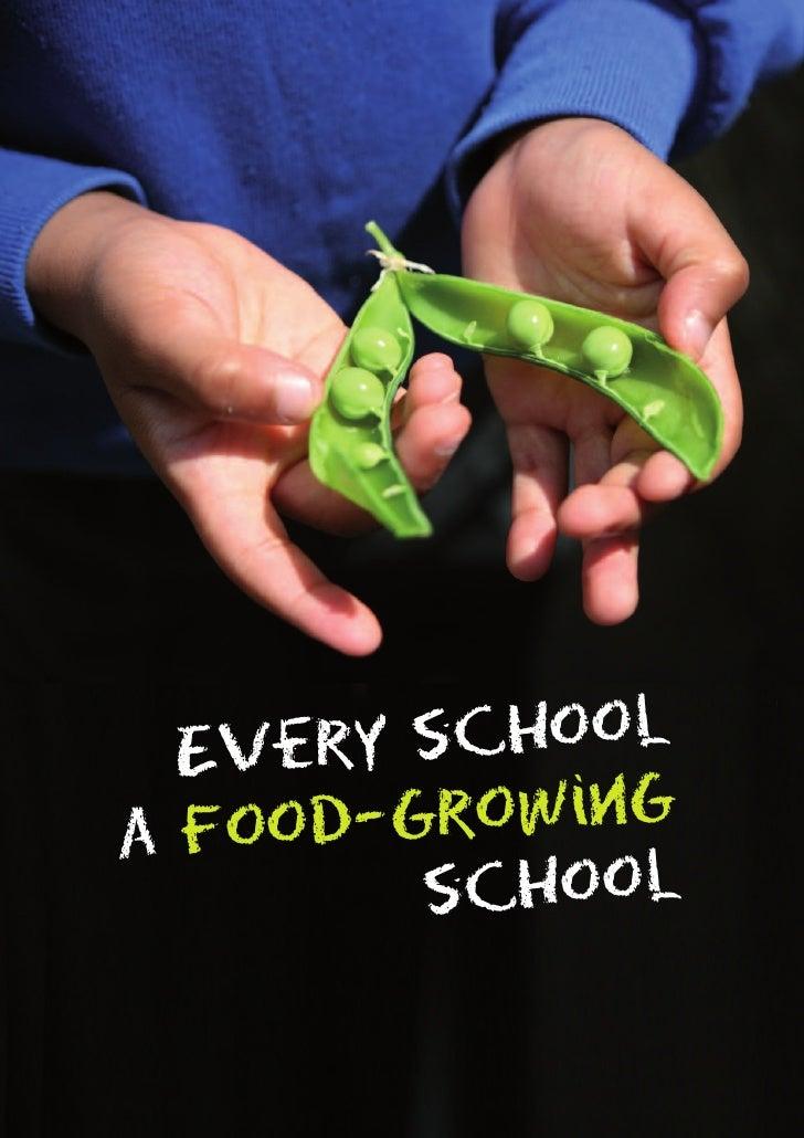 Every School: a Food Growing School