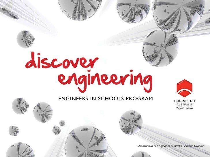 An initiative of Engineers Australia, Victoria Division
