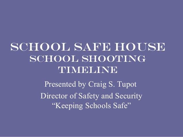 School shooting information and timeline slideshare