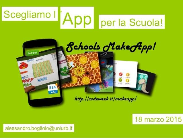 Schools makeapp le idee per l 39 app della scuola - Idee opslag cd ...