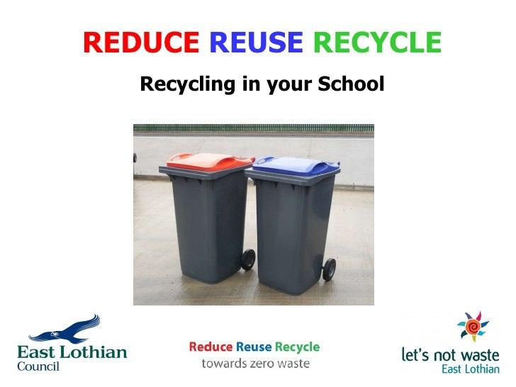 Schools Recycling
