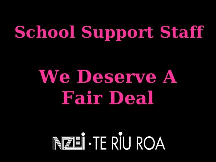 School Support Staff