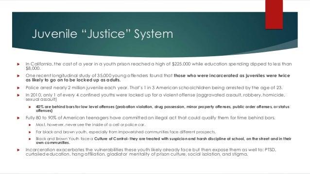 Juvenile Justice System in California