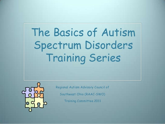 School training module seven,autism and sensory differences
