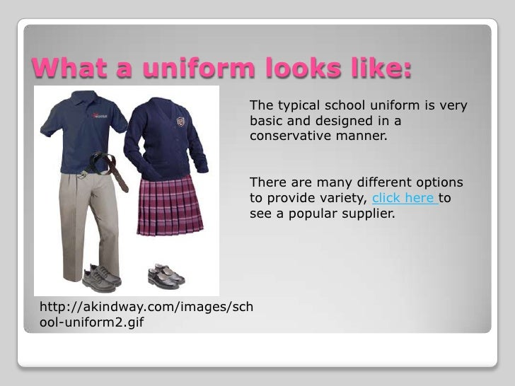 conclusion on school uniforms