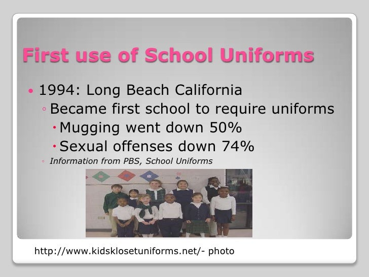 School uniforms mandatory essay